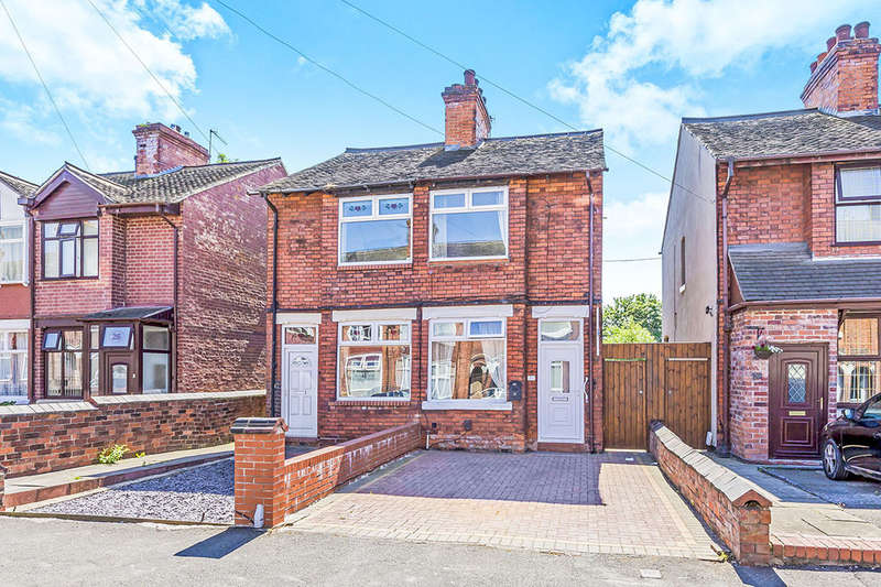 2 Bedrooms Semi Detached House for sale in Cotesheath Street, STOKE-ON-TRENT, ST1