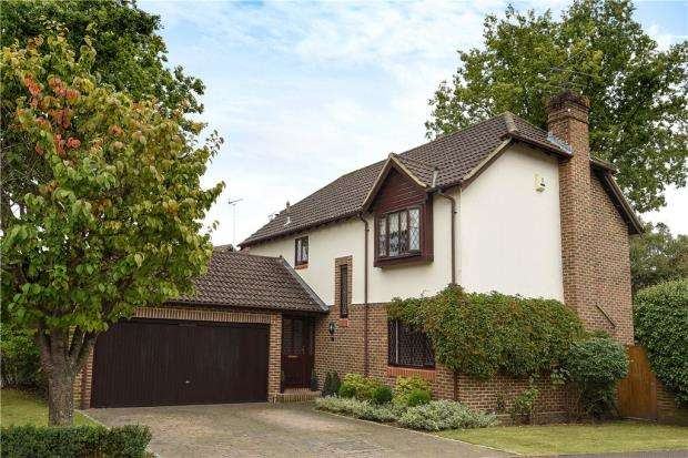 4 Bedrooms Detached House for sale in Carolina Place, Finchampstead, Berkshire