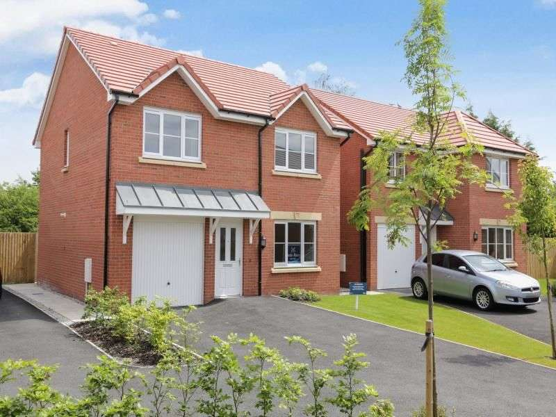 4 Bedrooms Detached House for sale in Boreay Close, Middlewich, CW10