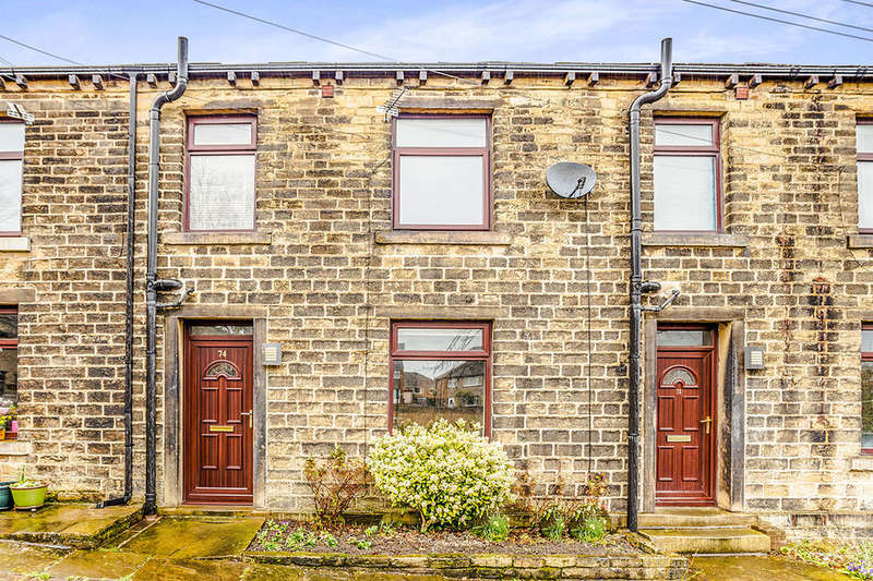 2 Bedrooms Terraced House for sale in Cowrakes Road, Lindley, Huddersfield, HD3