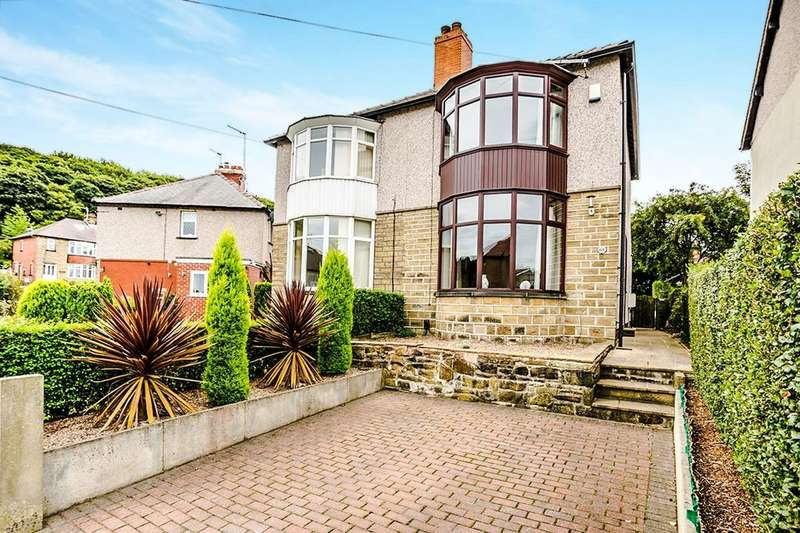 2 Bedrooms Semi Detached House for sale in Benomley Drive, Almondbury, Huddersfield, HD5
