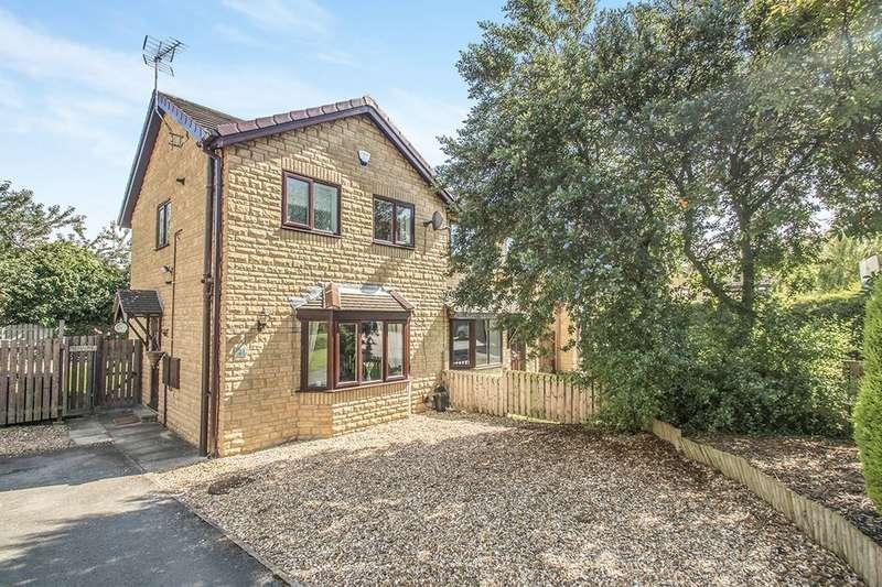 3 Bedrooms Semi Detached House for sale in Cambridge Court, Morley, Leeds, LS27
