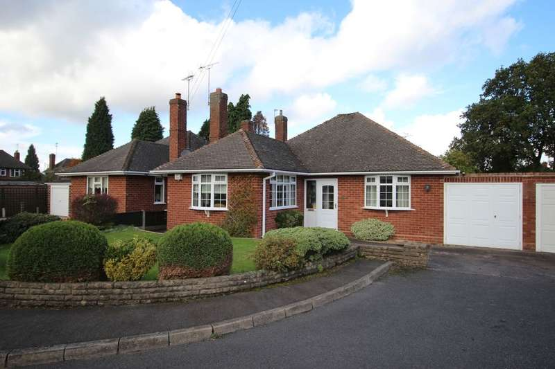 2 Bedrooms Detached Bungalow for sale in York Crescent, Wolverhampton, WV3