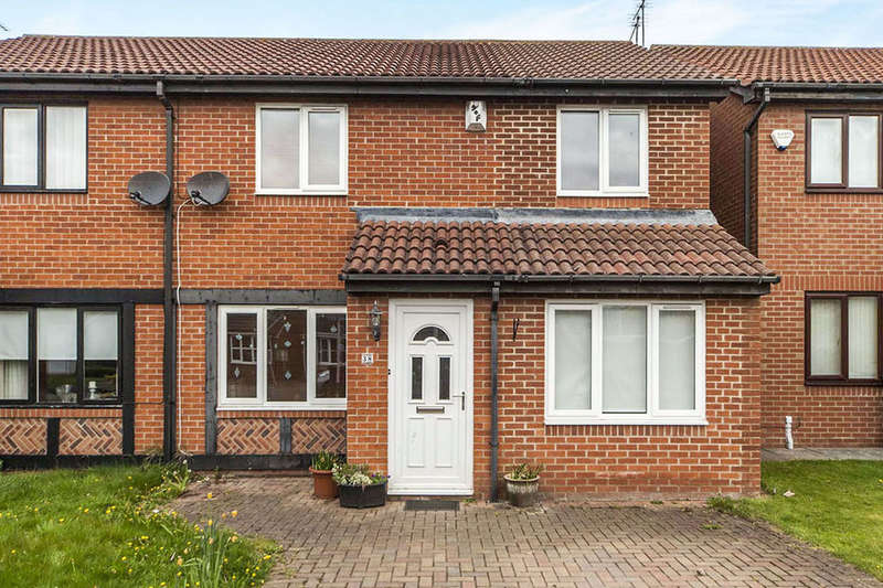 4 Bedrooms Semi Detached House for sale in Relley Garth, Langley Moor, Durham, DH7