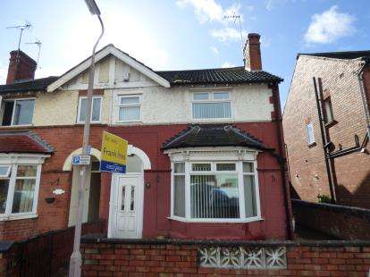4 Bedrooms Semi Detached House for sale in Ashfield Avenue, Mansfield, Nottinghamshire