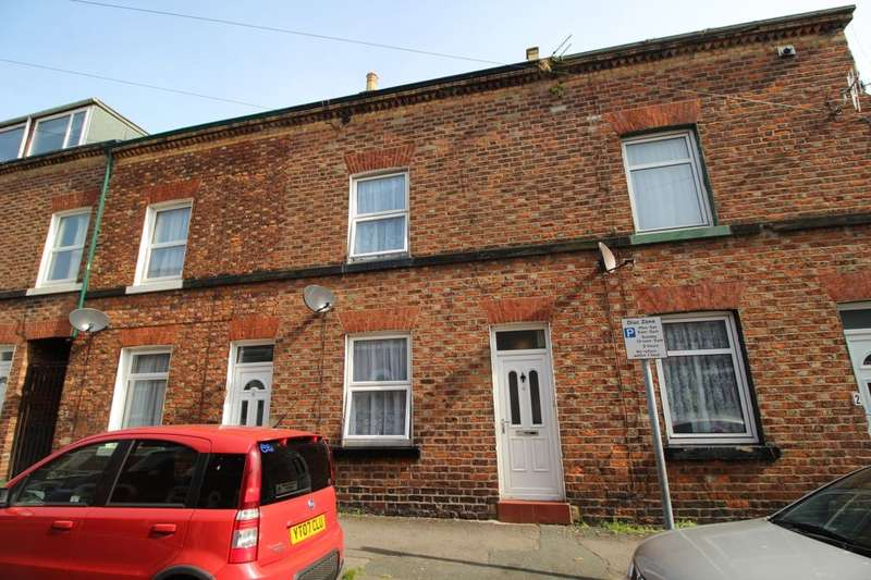 3 Bedrooms Terraced House for sale in Belle Vue Street, SCARBOROUGH, YO12