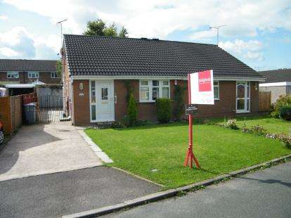2 Bedrooms Bungalow for sale in Somerley Close, Crewe, Cheshire