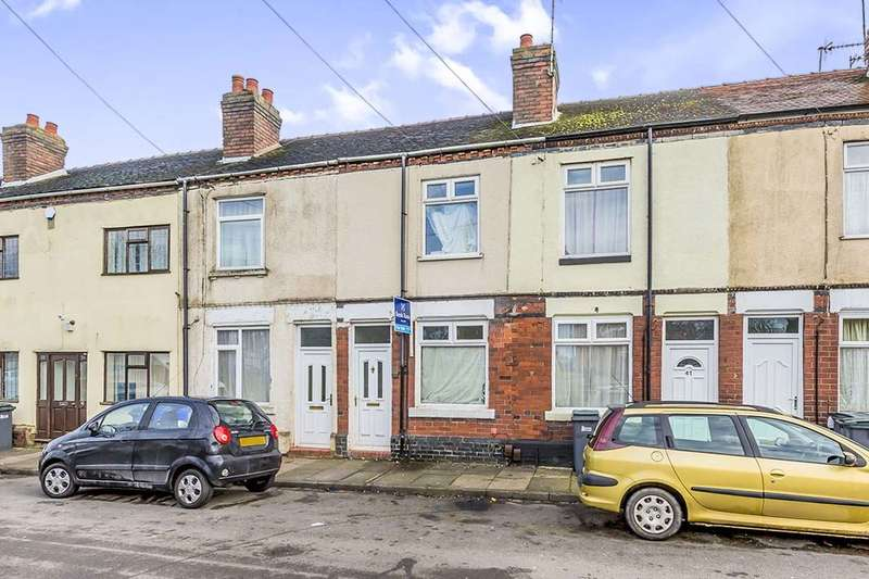 2 Bedrooms Terraced House for sale in Carr Street, Packmoor, Stoke-On-Trent, ST7