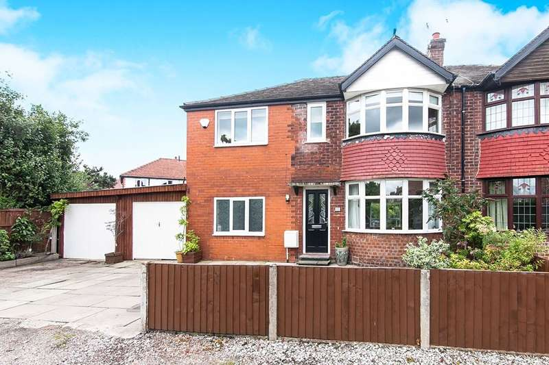 3 Bedrooms Semi Detached House for sale in Oakdene Road, Timperley, Altrincham, WA15