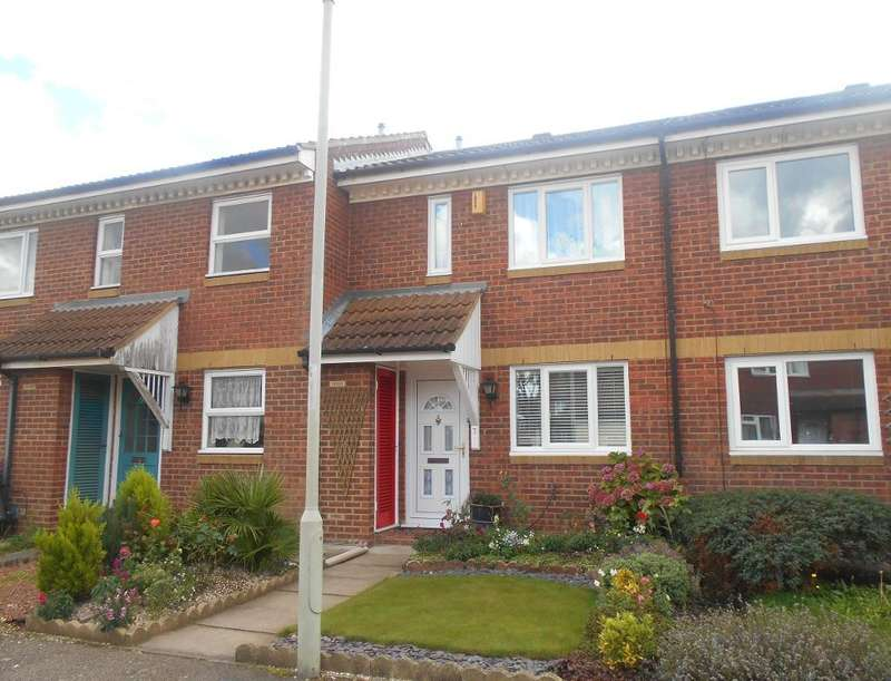 2 Bedrooms Terraced House for sale in Alburgh Close, Bedford, Bedfordshire, MK42 0HG