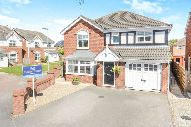 4 Bedrooms Detached House for sale in Ruffhams Close, Wheldrake, YORK, YO19
