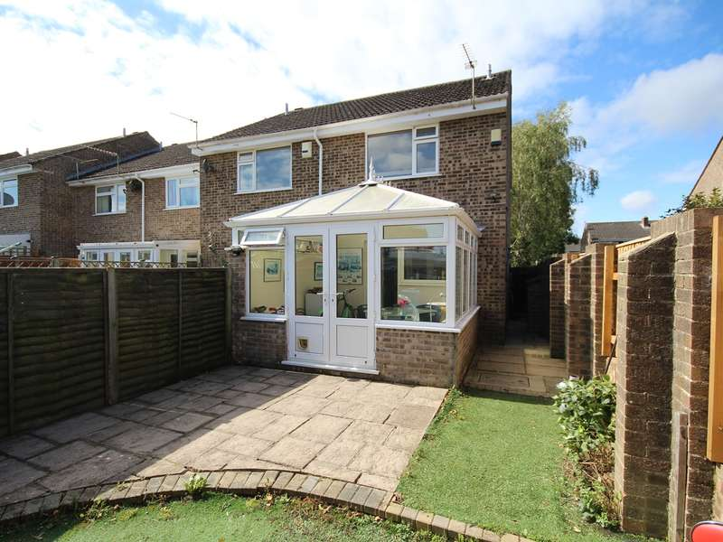2 Bedrooms End Of Terrace House for sale in Cockerell Close, Wimborne, BH21