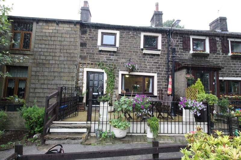 2 Bedrooms Terraced House for sale in Jib Hill Cottages, Burnley, BB10