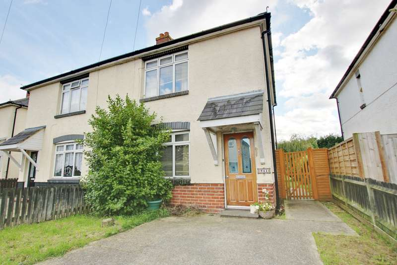 3 Bedrooms Semi Detached House for sale in Hunt Avenue, Netley Abbey