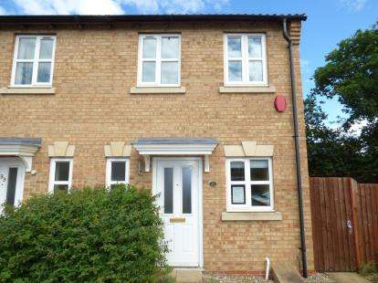 2 Bedrooms Semi Detached House for sale in Nero Way, North Hykeham, Lincoln, Lincolnshire