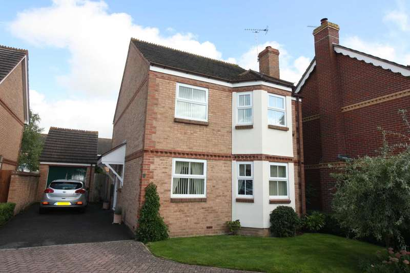 4 Bedrooms Detached House for sale in Upperway Furlong, Didcot