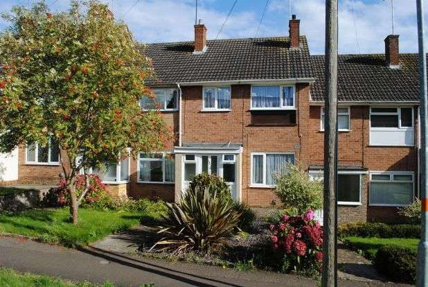 3 Bedrooms Terraced House for sale in Grasscroft, Kingsthorpe, Northampton NN2 8QL
