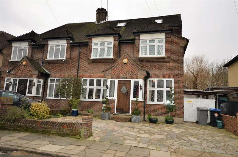5 Bedrooms Semi Detached House for sale in Ledway Drive, Wembley, Near Preston Road, Middlesex., HA9 9TQ