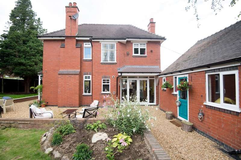 3 Bedrooms Detached House for sale in Boot Hill, Atherstone, Warwickshire, CV9