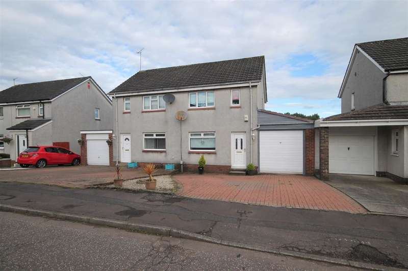3 Bedrooms Semi Detached House for sale in Cromarty Avenue, Bishopbriggs, Glasgow