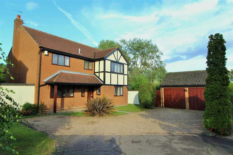 4 Bedrooms Detached House for sale in Woodview Close, St. John's, Colchester