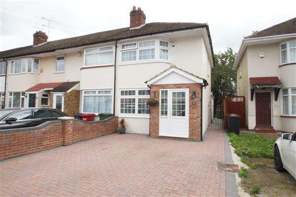2 Bedrooms End Of Terrace House for sale in Lewins Way, Cippenham, Slough