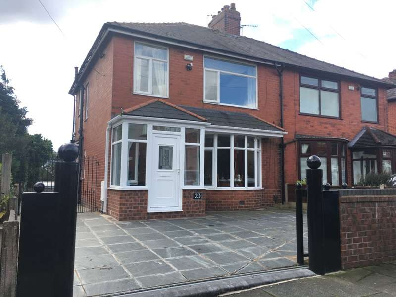 3 Bedrooms Semi Detached House for sale in Firwood Lane Firwood Fold Bolton