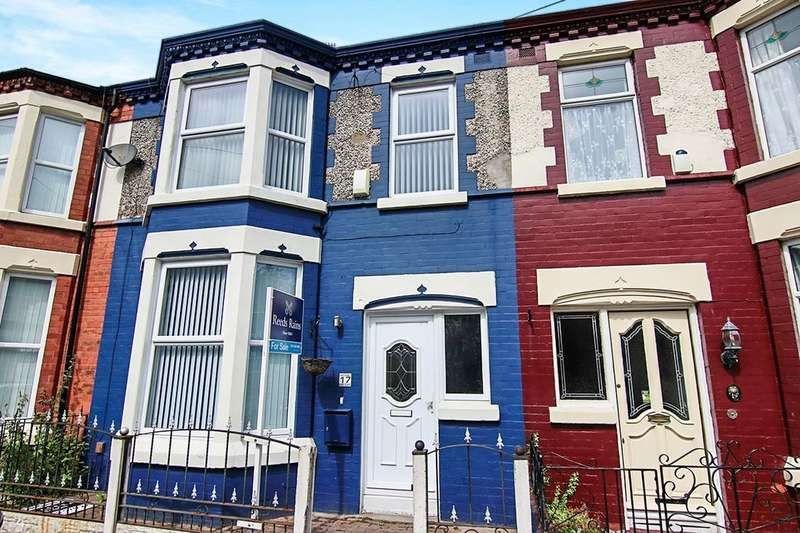 3 Bedrooms Terraced House for sale in Fairburn Road, Liverpool, L13
