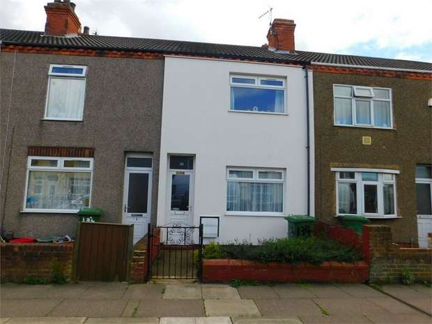 3 Bedrooms Terraced House for sale in Gilbey Road, Grimsby, Lincolnshire