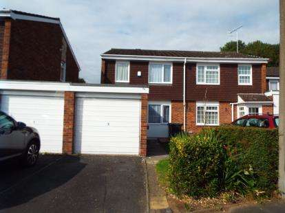 3 Bedrooms Semi Detached House for sale in Blakemere Close, Winyates, Redditch, Worcs