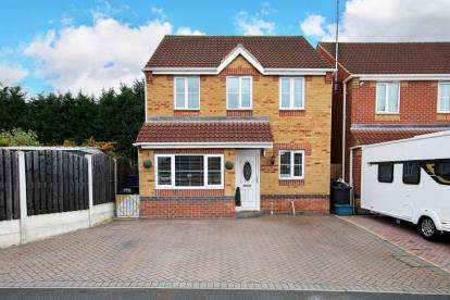 3 Bedrooms Detached House for sale in Swallow Crescent, Rawmarsh, Rotherham, South Yorkshire
