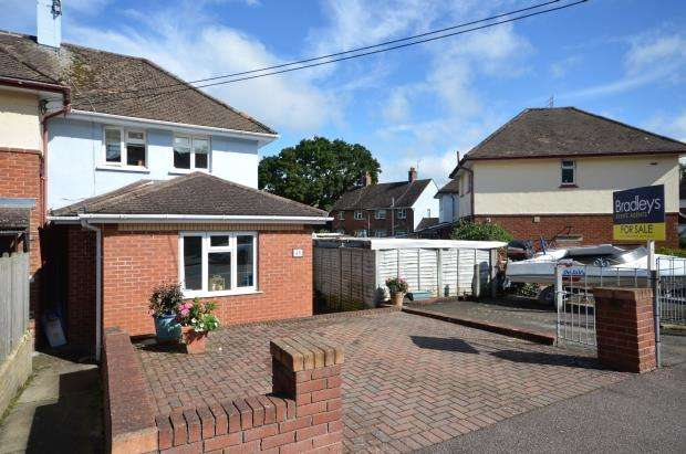 3 Bedrooms End Of Terrace House for sale in Brimley Vale, Bovey Tracey, Newton Abbot, Devon