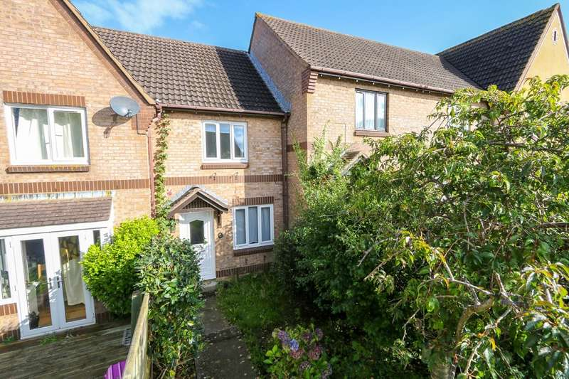 2 Bedrooms Terraced House for sale in Foxhollows, Newton Abbot