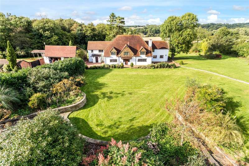 5 Bedrooms Detached House for sale in Goose Hill, Headley, Thatcham, Hampshire, RG19