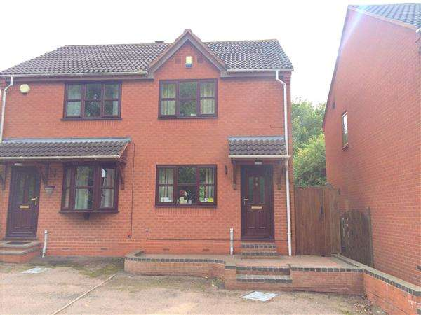 2 Bedrooms Semi Detached House for sale in Trajan Hill, Coleshill