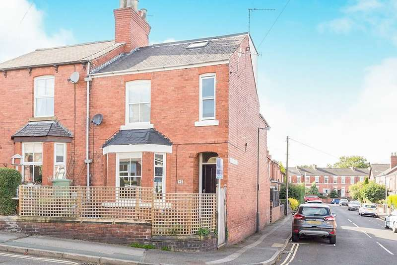 3 Bedrooms Semi Detached House for sale in New Queen Street, Chesterfield, S41