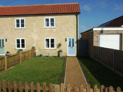 2 Bedrooms End Of Terrace House for sale in Beck Row, Bury St. Edmunds, Suffolk