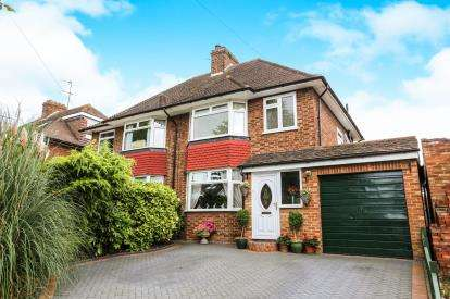 3 Bedrooms Semi Detached House for sale in Hampden Road, Hitchin, Hertfordshire, England