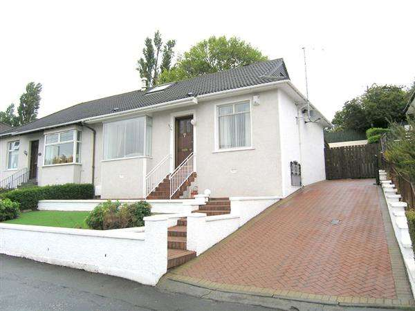 3 Bedrooms Semi Detached Bungalow for sale in Kings Park Avenue, Rutherglen, Glasgow
