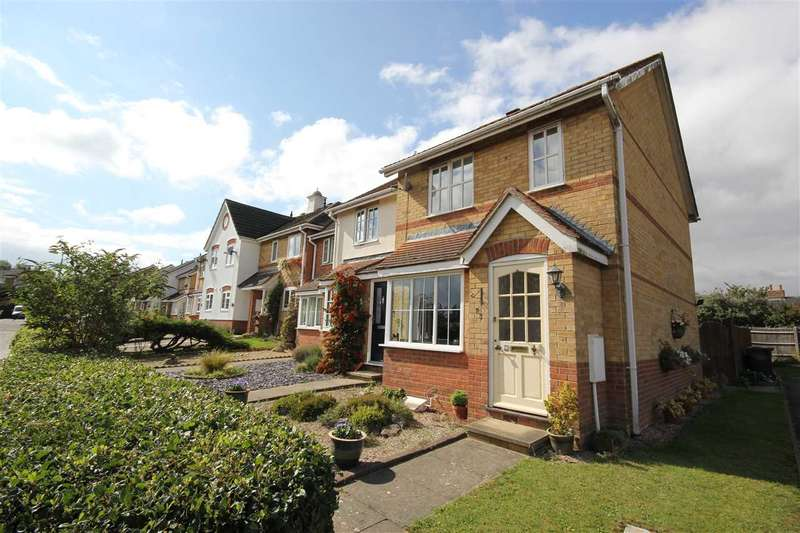 2 Bedrooms End Of Terrace House for sale in Clovers, Halstead