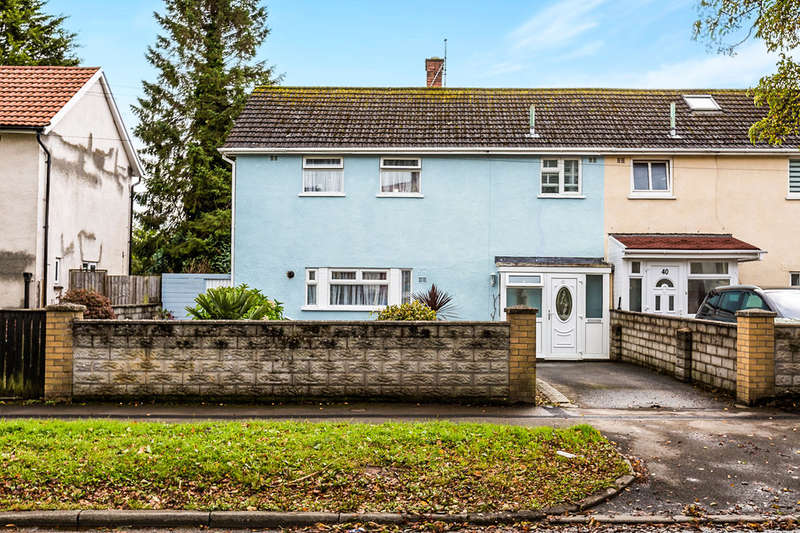 3 Bedrooms End Of Terrace House for sale in Templeton Avenue, Llanishen, Cardiff