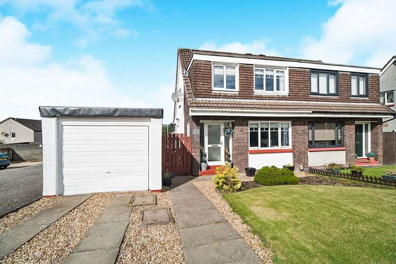 3 Bedrooms Semi Detached House for sale in Redburn Court, Whitelees, Cumbernauld, G67