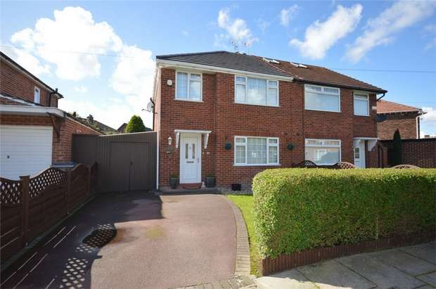 3 Bedrooms Semi Detached House for sale in Holmville Road, Bebington, Merseyside