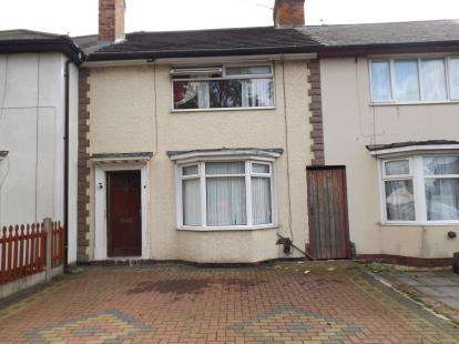 3 Bedrooms Terraced House for sale in St. Margarets Avenue, Ward End, Birmingham, West Midlands