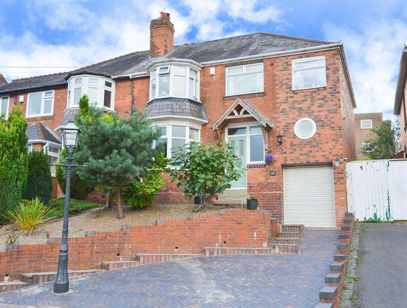 4 Bedrooms Semi Detached House for sale in Woodbourne Road, Bearwood