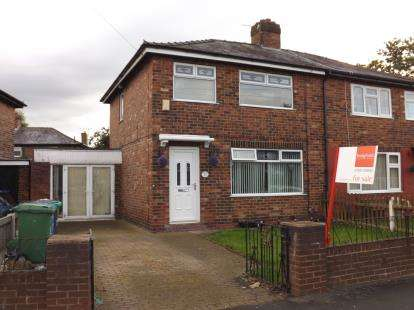3 Bedrooms Semi Detached House for sale in Central Avenue, Warrington, Cheshire