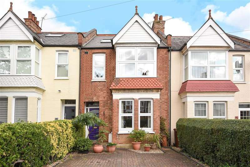 4 Bedrooms Terraced House for sale in Fairholme Road, Harrow, HA1 2TN