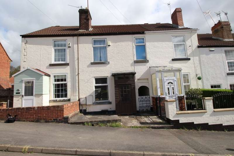 2 Bedrooms Terraced House for sale in Fowler Street, Old Whittington, Chesterfield, S41