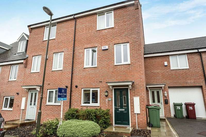 4 Bedrooms Terraced House for sale in Hetton Drive, Clay Cross, Chesterfield, S45