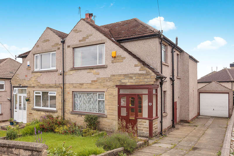3 Bedrooms Semi Detached House for sale in Canford Drive, Allerton, BRADFORD, BD15